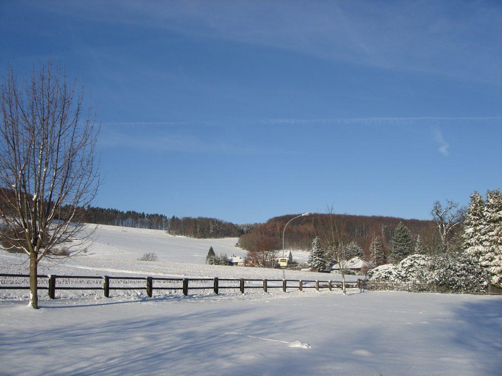 Winterliches Göstrup
