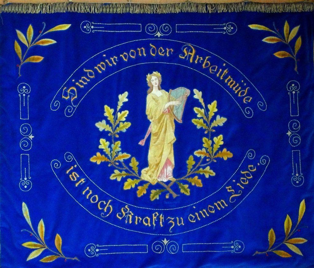 Fahne MGV Frohsinn Meierberg