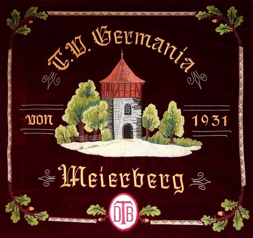 Fahne TV Germania Meierberg