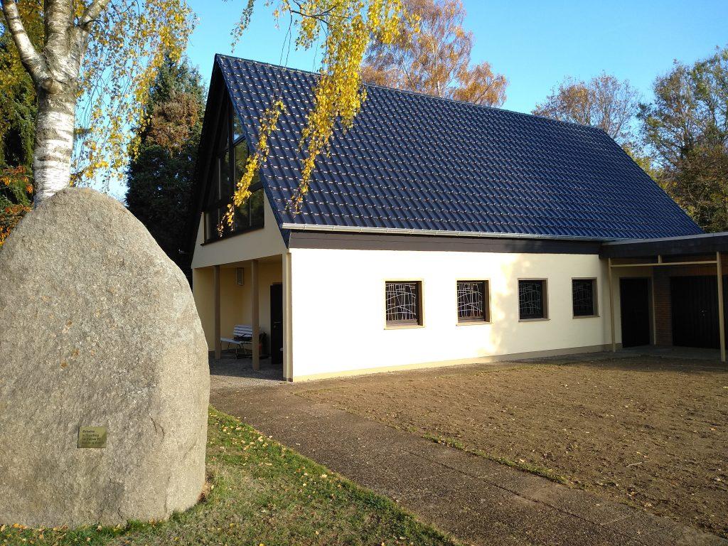 Renovierte Friedhofskapelle Meierberg