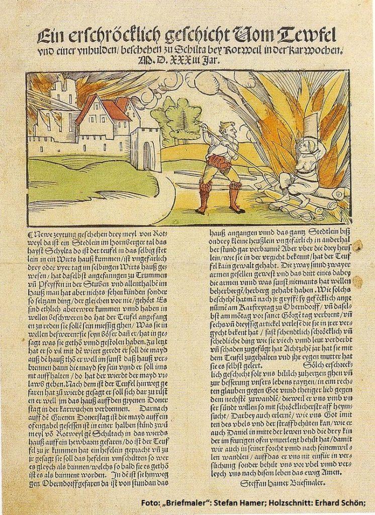 Hexenverfolgungen im Extertal