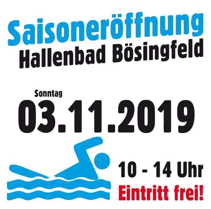 Hallenbad Bösingfeld Saisoneröffnung